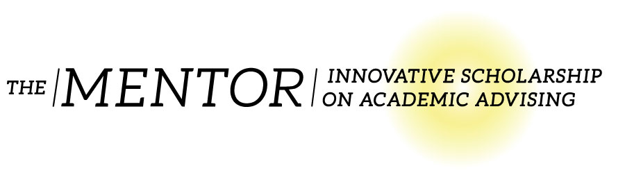 The Mentor - Innovative Scholarship on Academic Advising logo