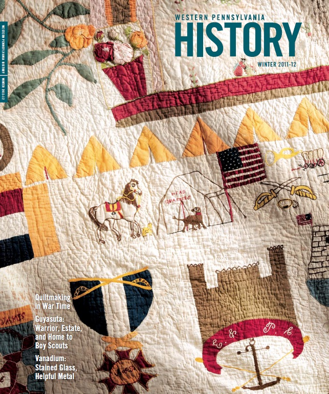 Western Pennsylvania History Winter 2011 Cover