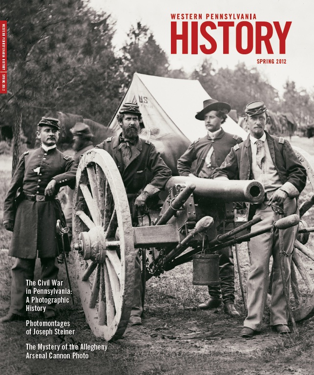 Western Pennsylvania History Spring 2012 Cover